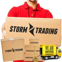 Large Premium Storm Trading Printed Double Wall Removal Boxes 18 x 12 x 12""